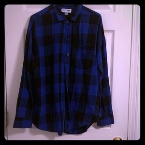 Old Navy Boyfriend Flannel xl